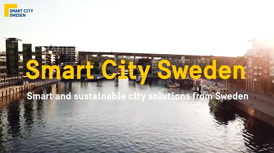 Smart city, bildklipp från film